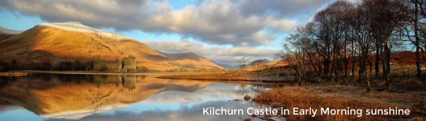 Mountains, Lochs & Castles Day Tour from Edinburgh