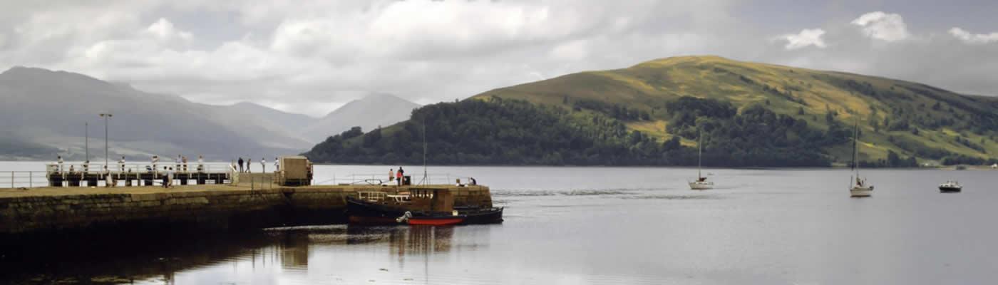 View across Loch Fyne