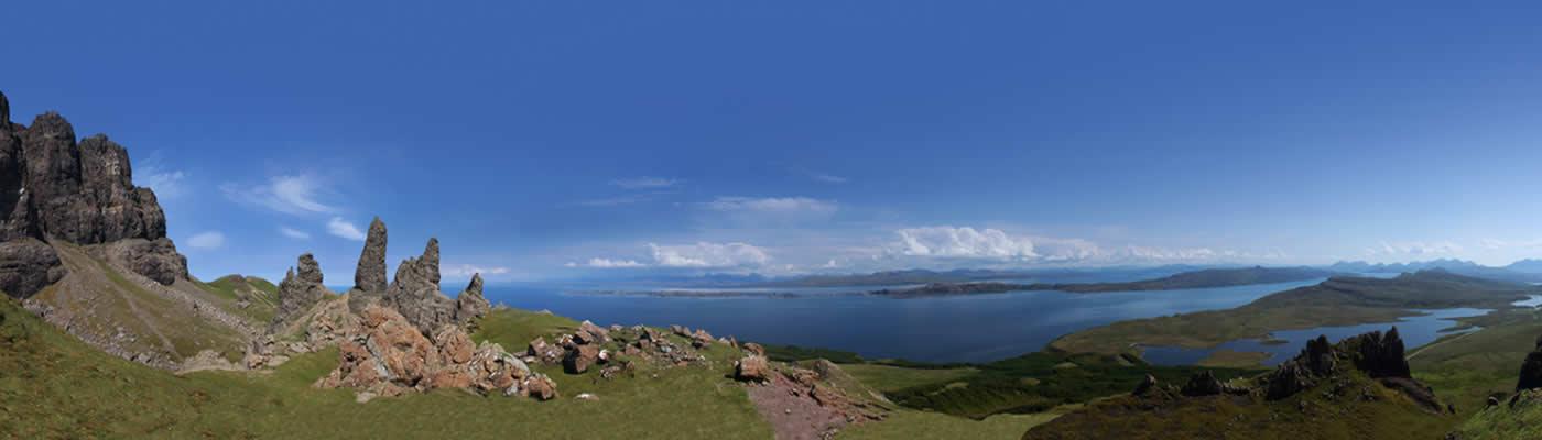 Views over Skye