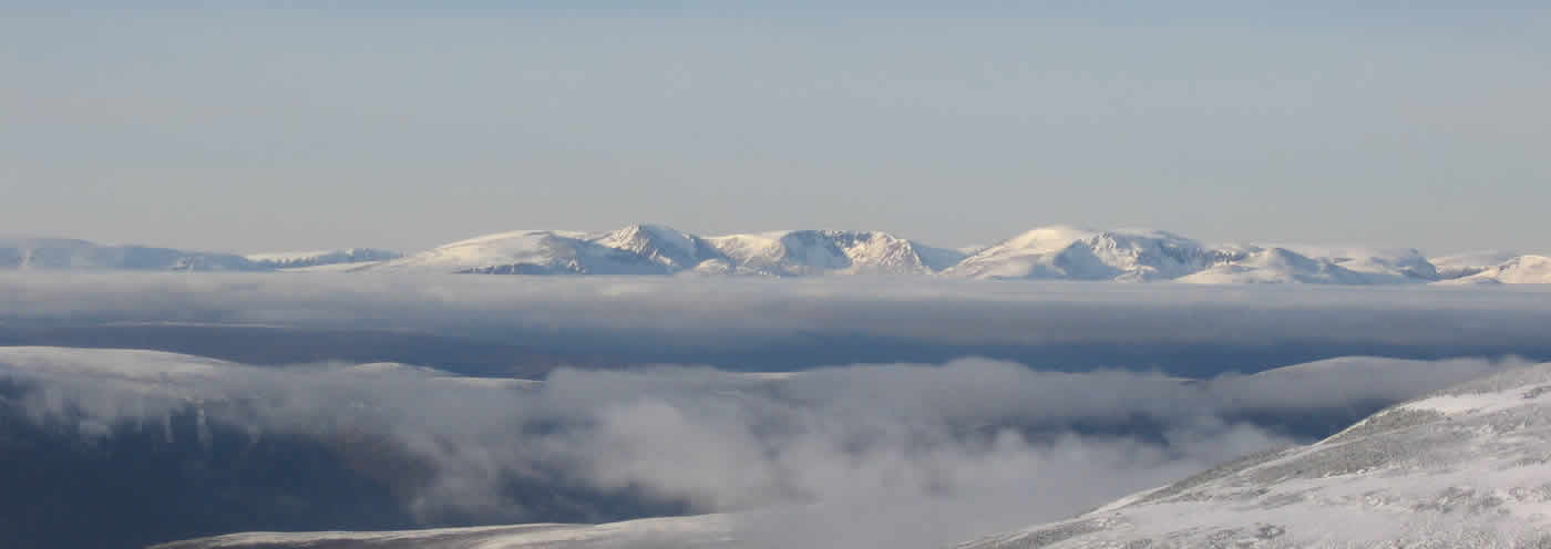 Views across Cairngorms